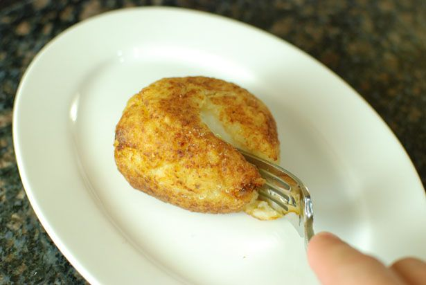 تخم مرغ با روکش پوره سیب زمینی