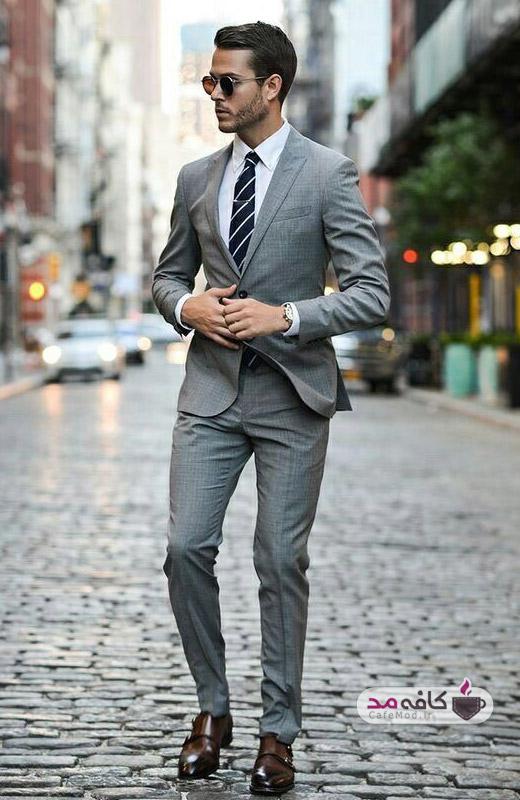 قوانین پوشیدن کت و شلوار طرحدار مردانه
