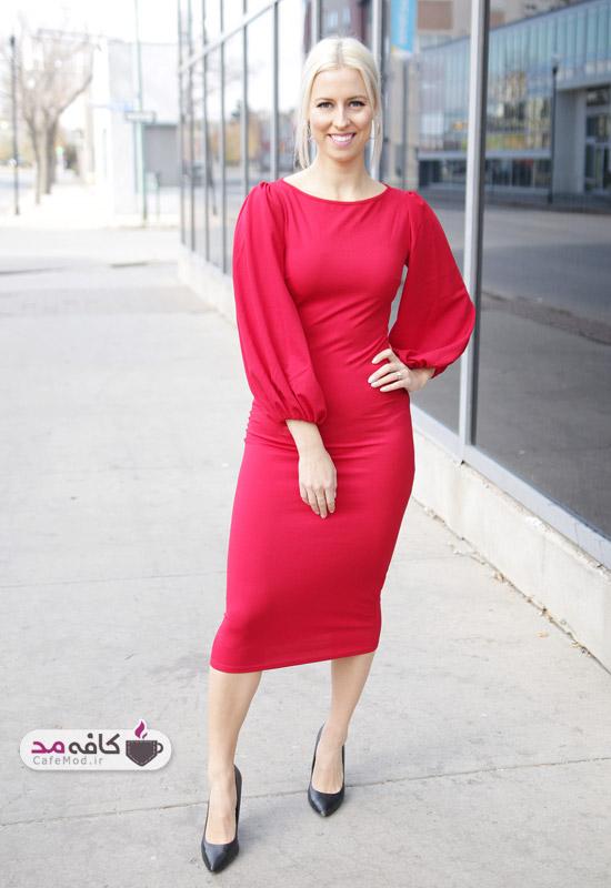 نکاتی در هنگام پوشیدن لباس قرمز