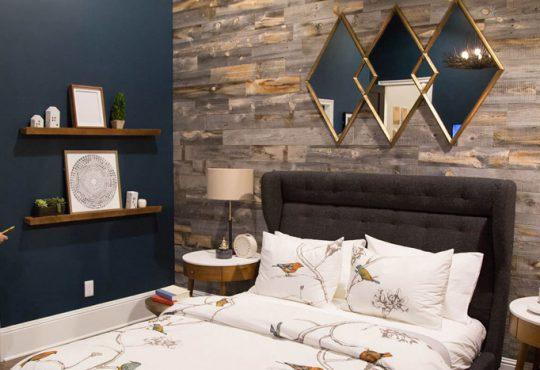 روش هایی برای تزیین دیوار اتاق خواب