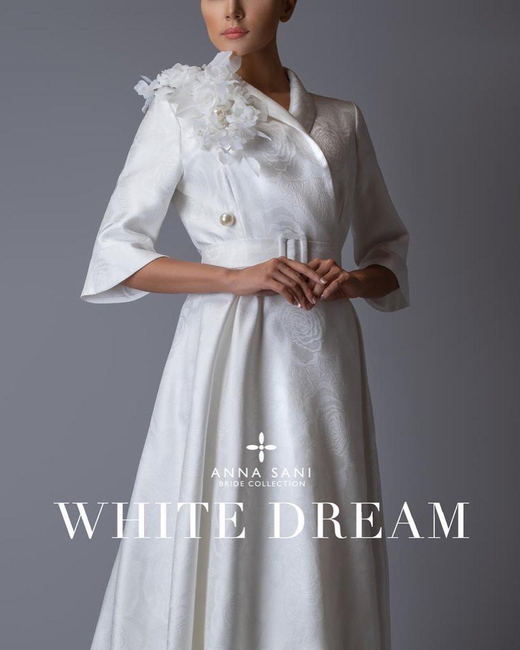 مجموعه جدید لباس عروس برند anna sanı با نام رویای سفید