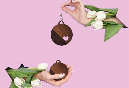 مدل گوشواره های چوبی maroosia