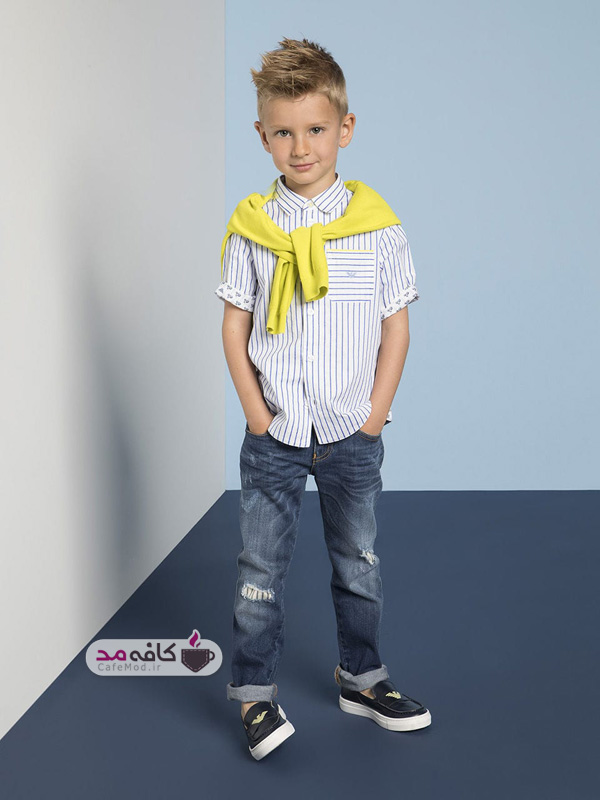 مدل لباس بچه گانه armani