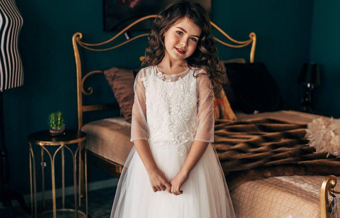 مدل لباس عروس دخترانه 2020