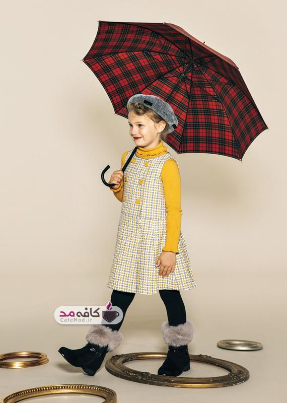 مدل لباس پاییزه و زمستانه دخترانه