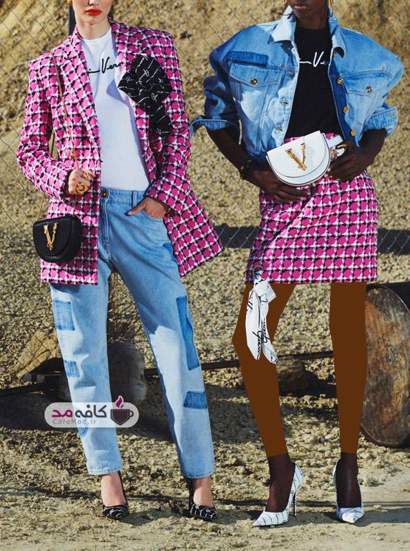 مدل لباس زنانه Versace 2020