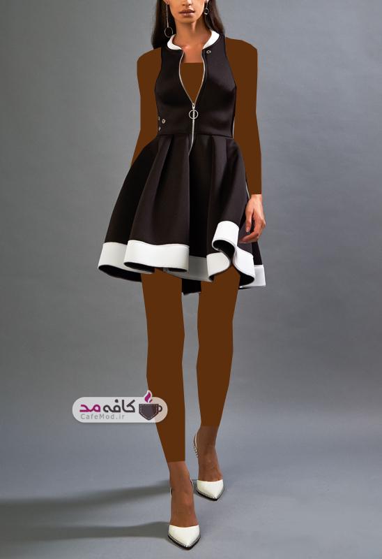 مدل لباس مجلسی فشن