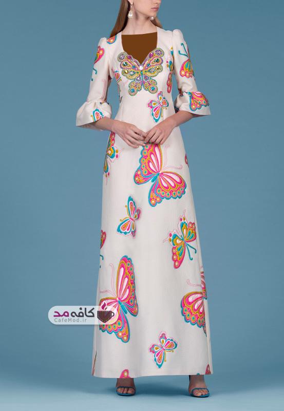 مدل لباس مجلسی پاییزه