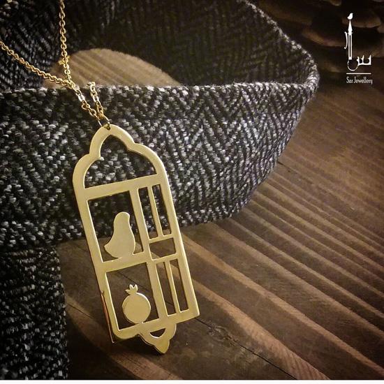 مدل گردنبند دست ساز ایرانی