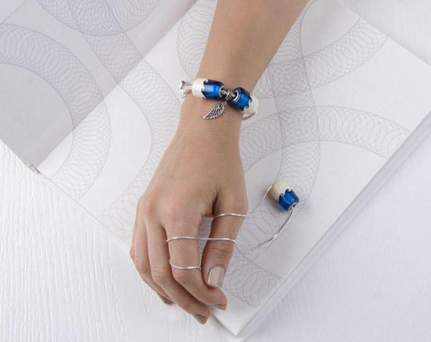 مدل زیورآلات دست ساز شیشه ای