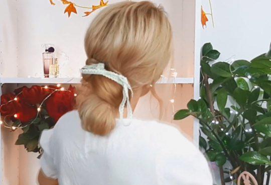 فیلم آموزش بافت موی ساده در منزل