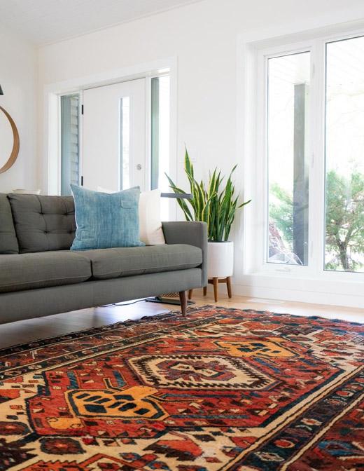 چگونگی پهن کردن فرش