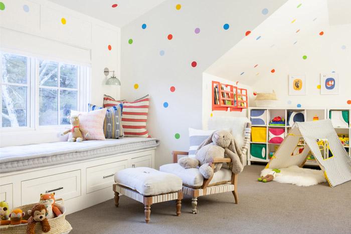 ایده رنگی برای طراحی داخل منزل