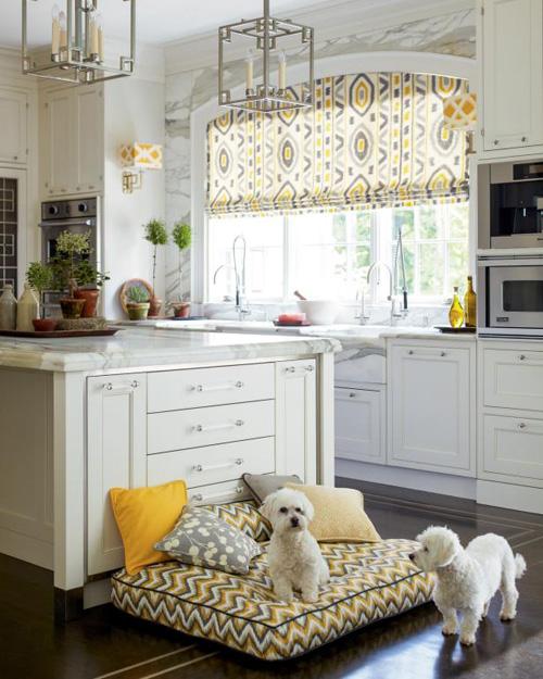 طراحی پرده آشپزخانه
