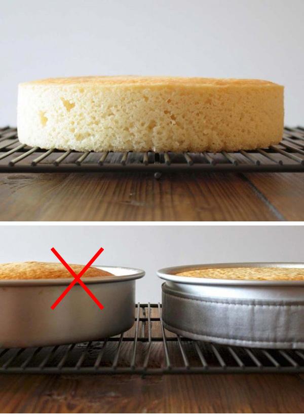 چطور کیکی با سطح صاف بپزیم؟