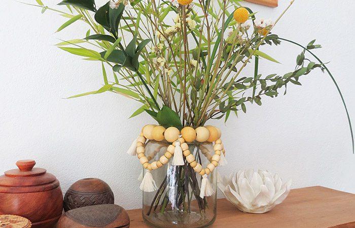 ساخت گلدان با شیشه های ساده