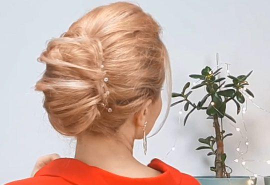 فیلم آموزش بافت مو برای موهای بلند و مجلسی