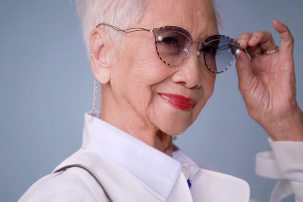 پیرترین مدل زن آسیا