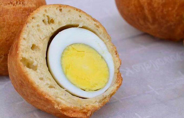 تهیه رول تخم مرغ