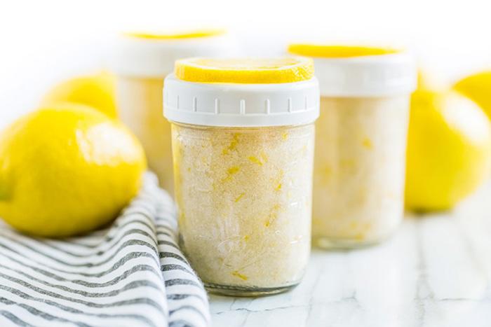 طرز تهیه شکر لیمو برای انواع شیرینی و نان