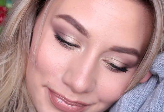 فیلم آموزش آرایش صورت با رنگ های ملایم زمستانی