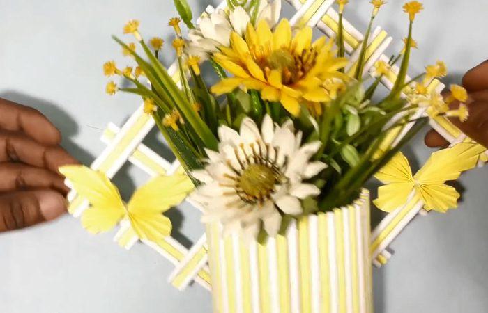 فیلم آموزش ساخت آویز برای گل مصنوعی