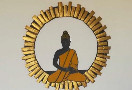 فیلم آموزش ساخت تابلوی بودا