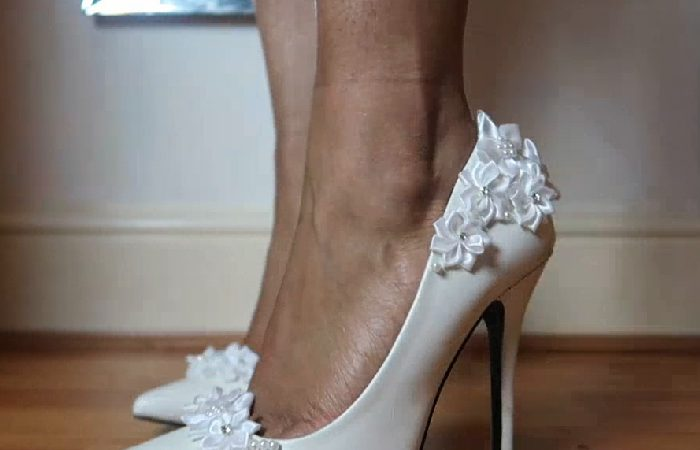 فیلم آموزش تزیین کفش عروس