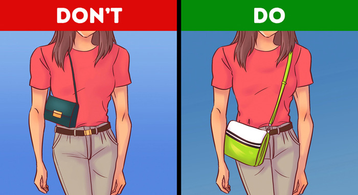 نحوه انتخاب کیف مناسب برای انواع بدن