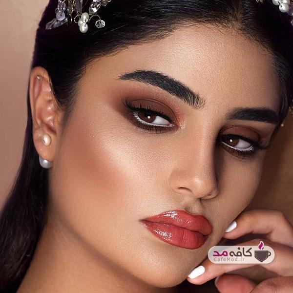 مدل آرایش زنانه مجلسی