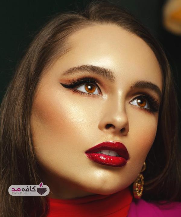 مدل آرایش شب مجلسی