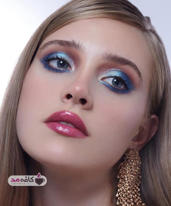 مدل آرایش کامل صورت