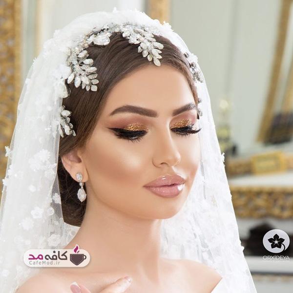 مدل آرایش عروس