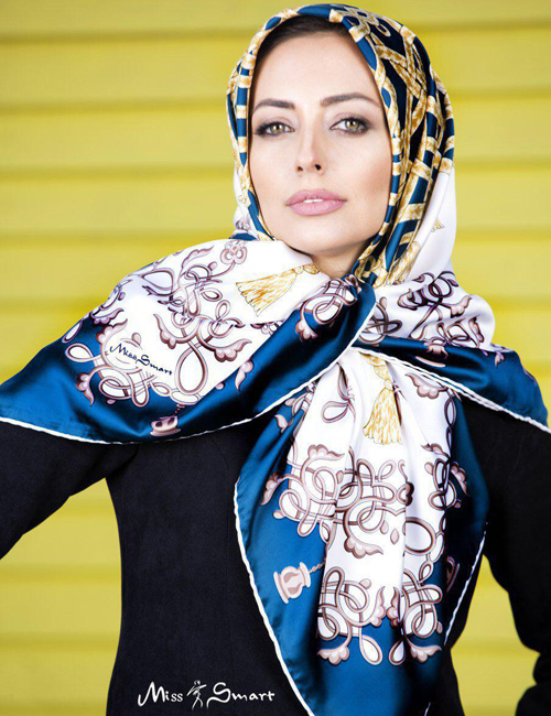 برندهای ایرانی و انواع مدل شال و روسری