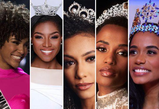 دختران سیاهپوست در صدر زیباترینهای دنیا
