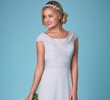 آشنایی با انواع یقه لباس عروس