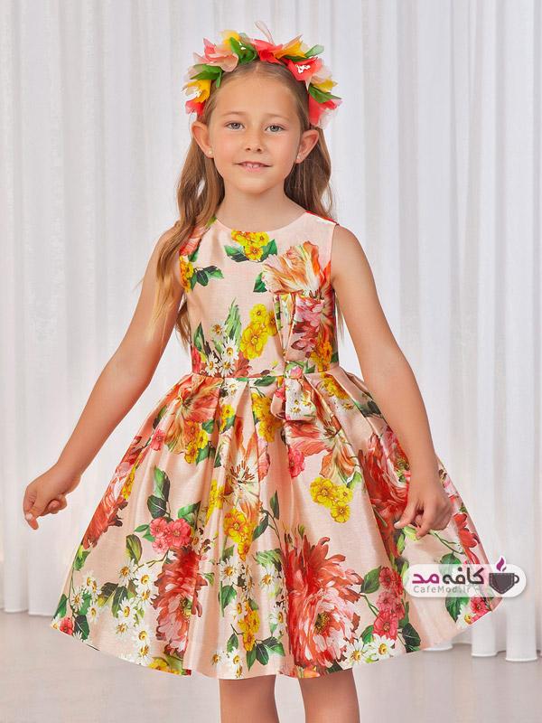 مدل لباس مجلسی شاد دخترانه