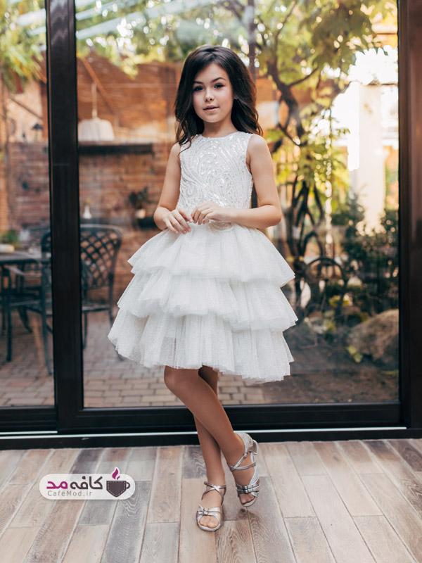 مدل لباس دخترانه مجلسی شیک