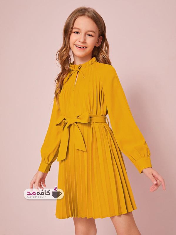 مدل لباس رنگ شاد دخترانه