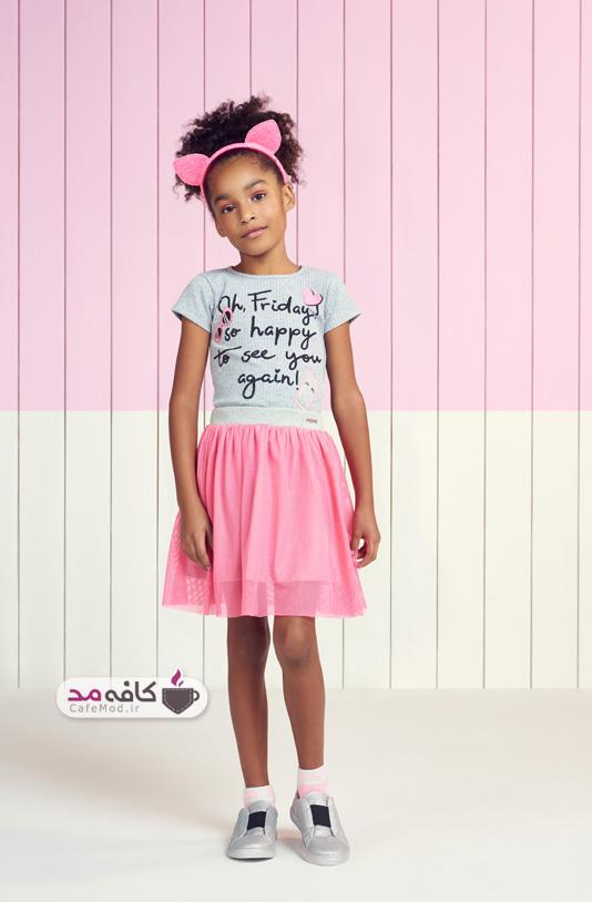 مدل لباس دخترانه بهاره تابستانه