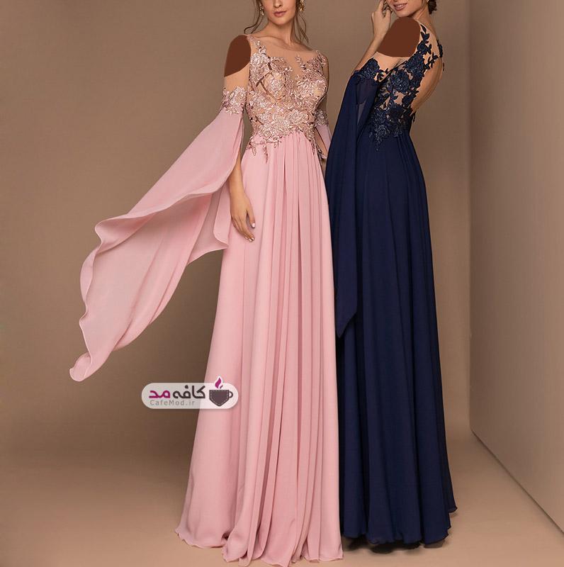 مدل لباس مجلسی بلند شیک