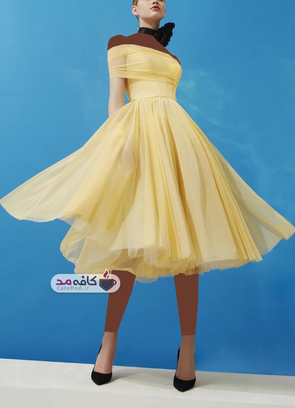 مدل لباس زنانه مجلسی فشن