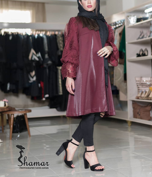 مدل مانتو ایرانی مزونی