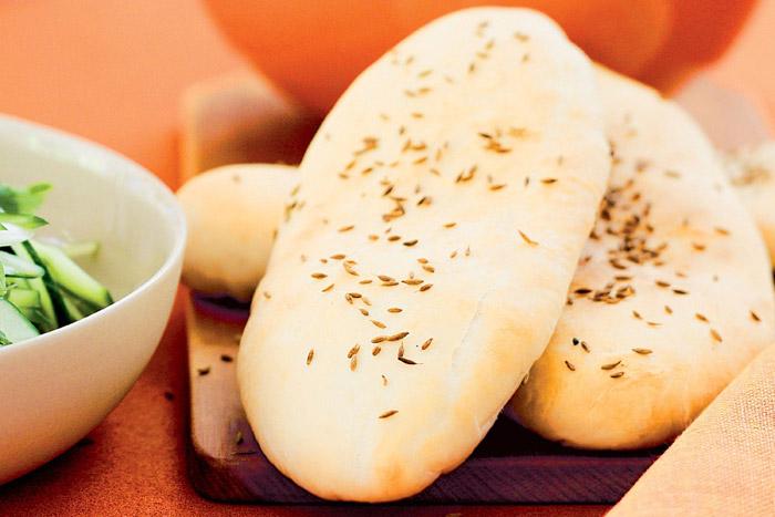 طرز تهیه نان زیره و سیاه دانه