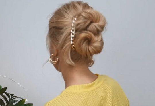 فیلم آموزش بافت موی متوسط در منزل
