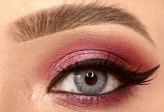 فیلم آموزش آرایش چشم با خط چشم زیبا