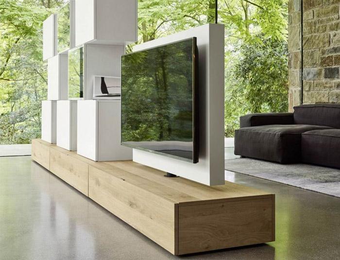 دیوار کاذب تلویزیون