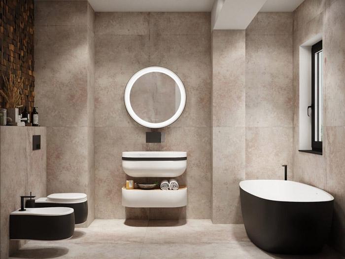 مدل دکوراسیون حمام