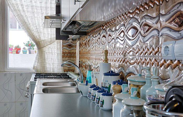 مدل کاشی در دکوراسیون آشپزخانه