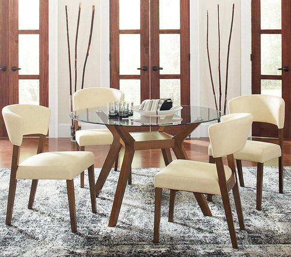 مدل میز ناهار خوری شیشه ای